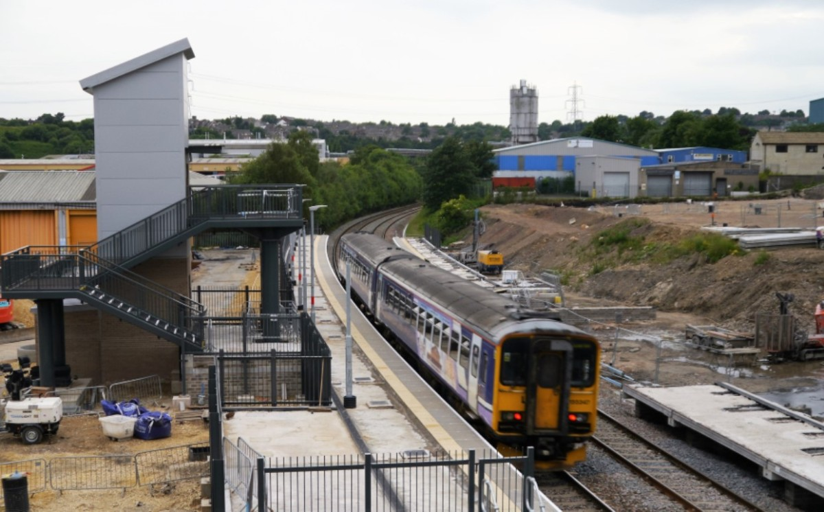 Low Moor, opening soon, also needs more trains