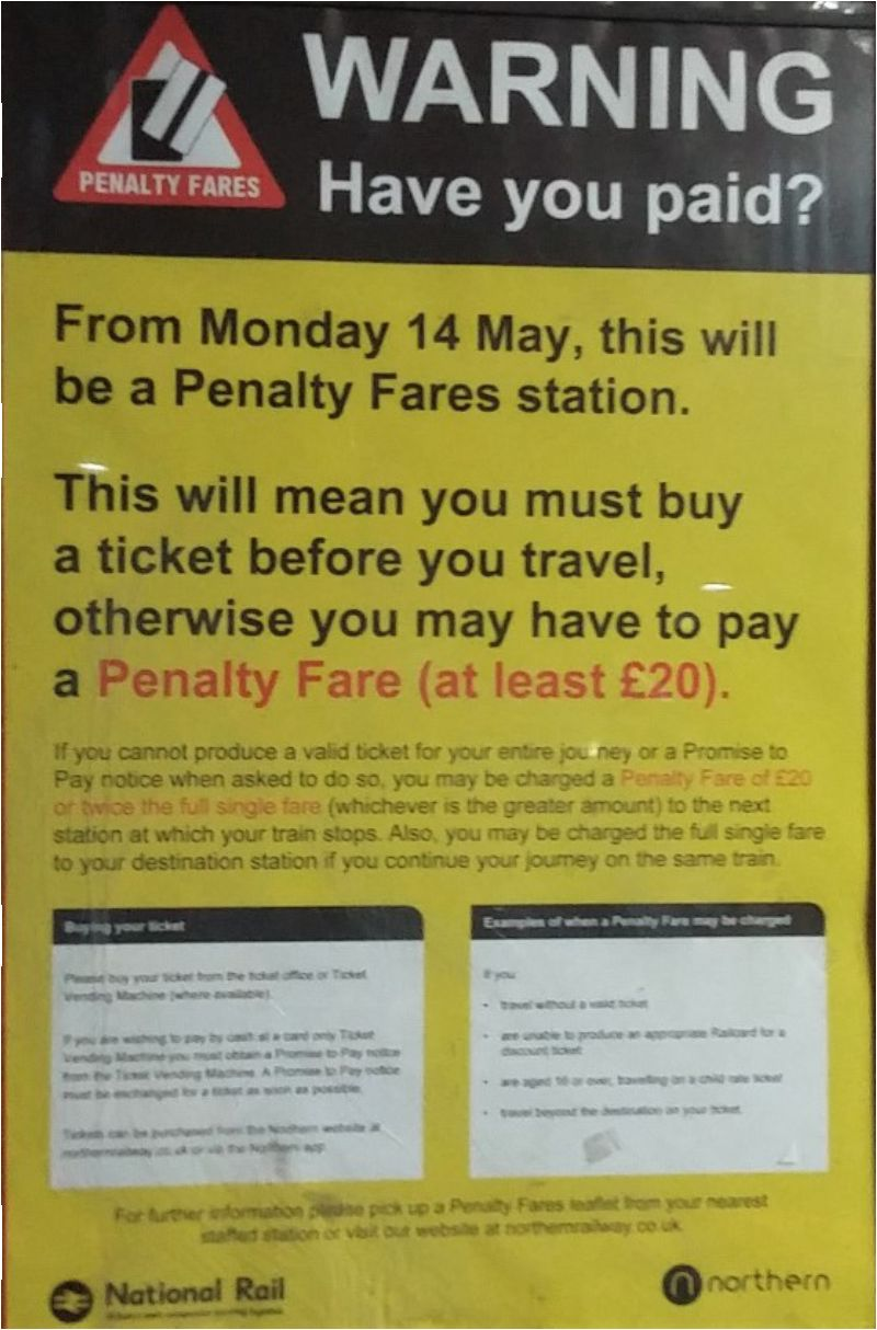 Penalty Fares: Northern promises discretion