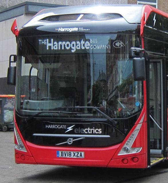 Electrification: Harrogate leads the way…with buses!
